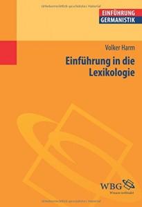 Einf. in die Lexikologie